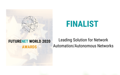Elisa Automate is finalist for the FutureNet World Awards 2020
