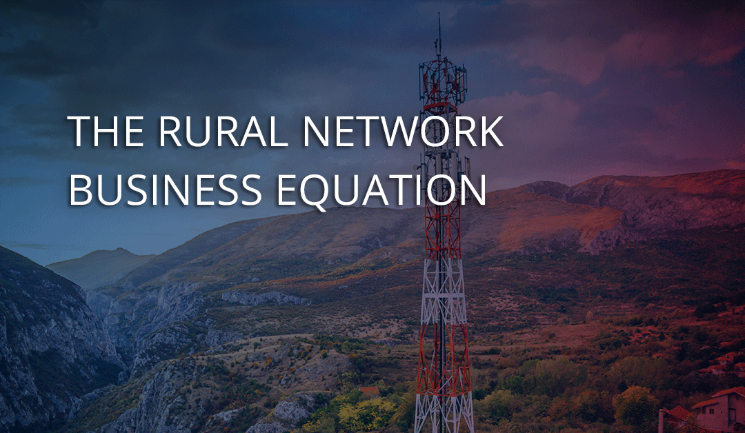 The rural network business equation – lessons from Finland.