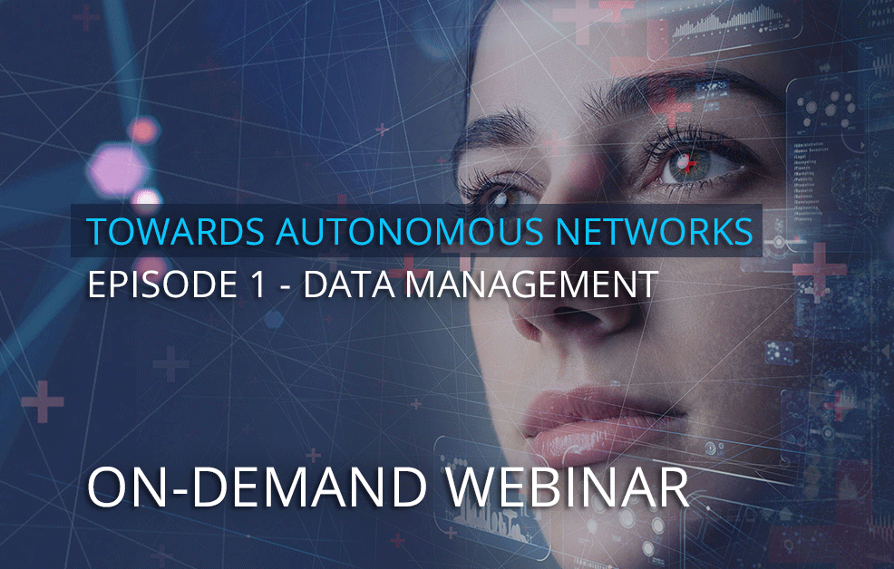 On-demand webinar: Effective data management for 5G and the automation journey