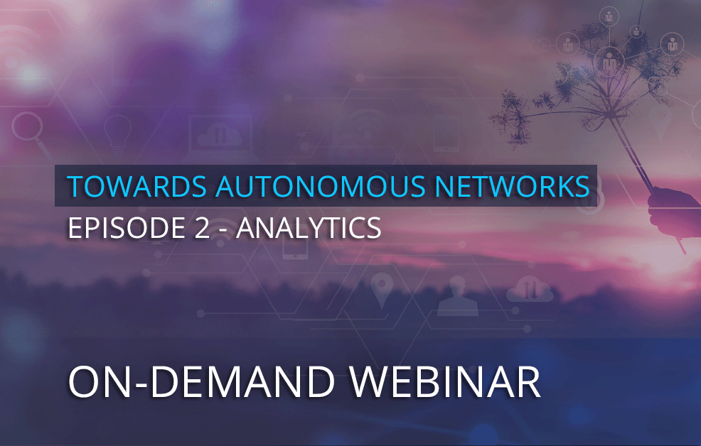 On-demand Webinar – The new era of analytics: Use cases, challenges and opportunities unlocked by 5G
