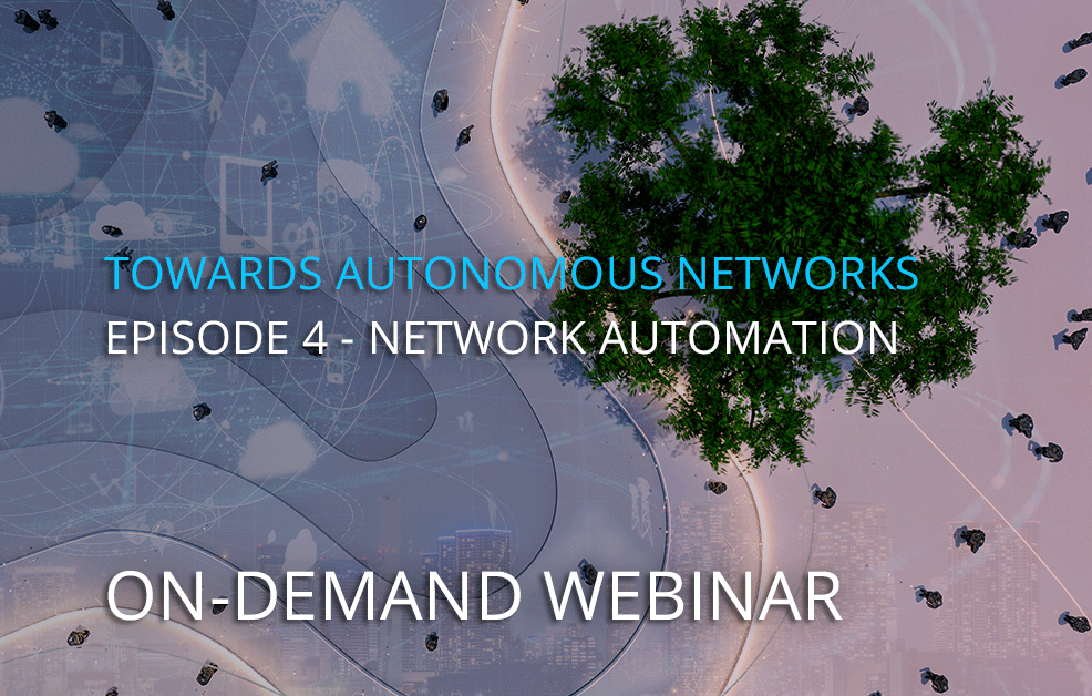 On-demand webinar – Unlocking Network Automation – 4 tips for success