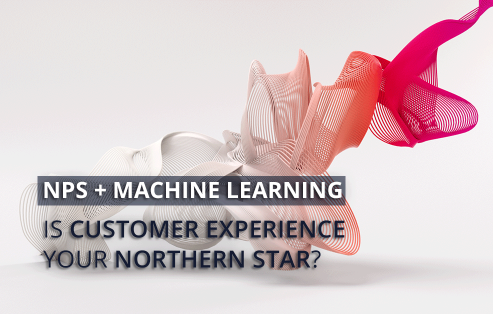 Can NPS be used with machine learning to help enhance customer experience?