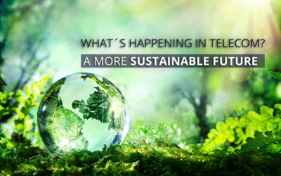 Moving to a more sustainable future. What's happening in telecoms?
